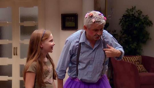 Michal Suchánek byl v seriálu Krejzovi za princeznu.