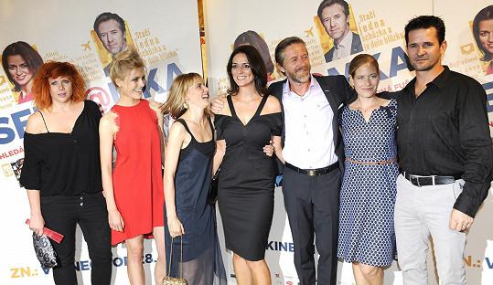 S dalšími členy filmové delegace