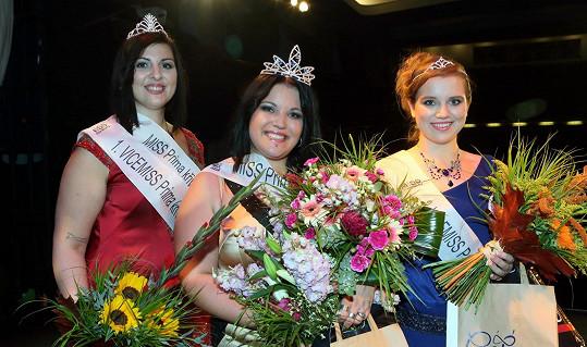 Všechny tři vítězky soutěže