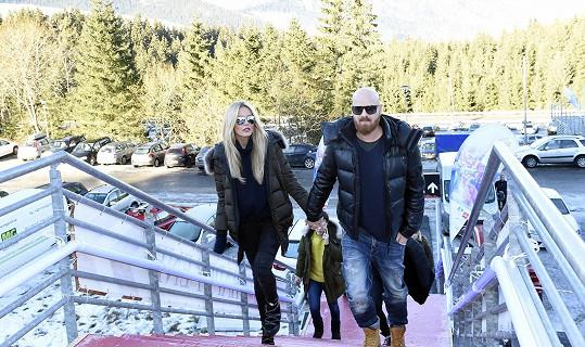 Simona vyrazila do Nízkých Tater s manželem Karlem.