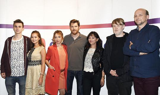 Švehlík společně s dalšími protagonisty seriálu