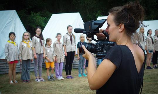 Pro Špátovou bylo důležité natočit dokument o českém skautu.