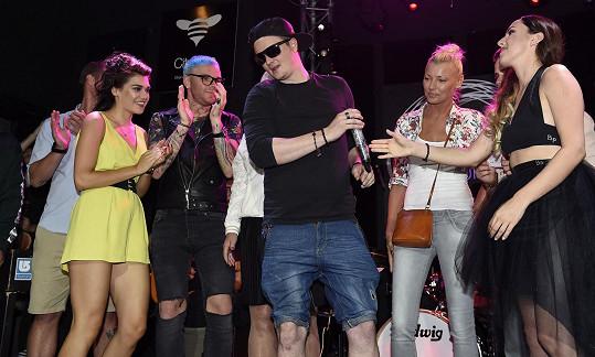 Společně křtili desku zpěvačky Yanny.