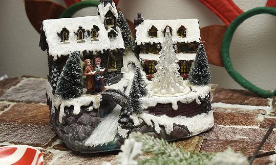 Vánoční zákoutí ale nejdete všude po domě.