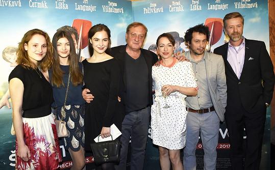 Delegace filmu Špunti na vodě
