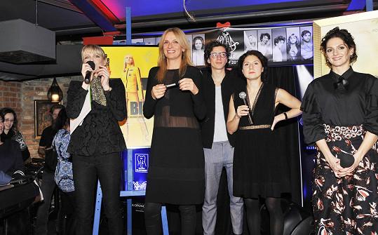 S Chantal Poullain a dalšími protagonisty kalendáře Proměny