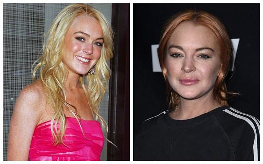 I u Lindsay Lohan je patrná nějaká ta proměna.