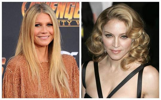 Gwyneth neuposlechla Madonnin rozkaz a tím si ji rozhněvala.