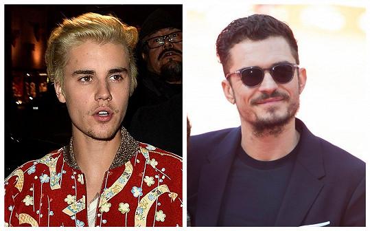 Justin Bieber a Orlando Bloom měli spory kvůli ženám.
