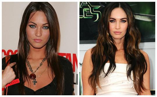 Transformace Megan Fox je patrná.