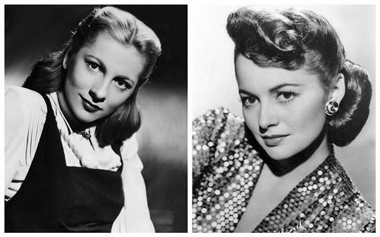 Sestry Joan Fontaine (vlevo) a Olivia de Havilland soupeřily už od dětství a nikdy svůj vztah pořádně nenapravily.