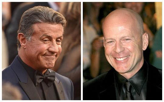 Stallone a Willis se nepohodli kvůli honorářům.