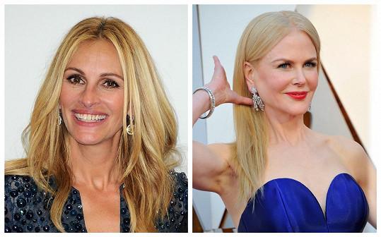 Julia a Nicole si zahrály ve stejněm filmu, ale jinak se nemusí.