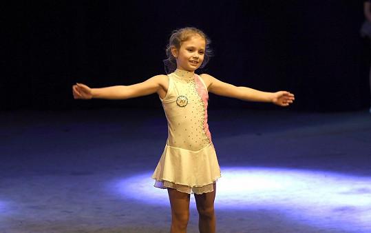 Eliška se dostala do finále, kde tančila.