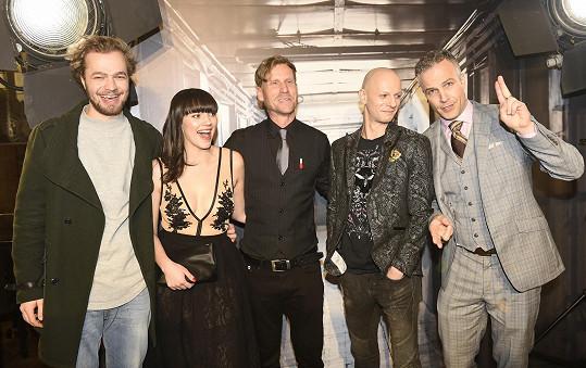 S kolegy ze snímku Daria
