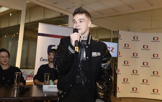 S Mikolasem jsme si povídali u příležitosti představení sedmi finalistů, kteří se utkají o vítězství v národním kole Eurovize.