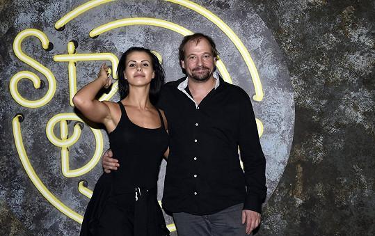 Marek Taclík s Martinou Markovou