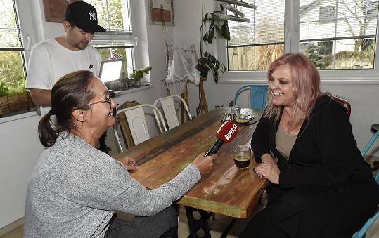 Markéta při rozhovoru se Super.cz
