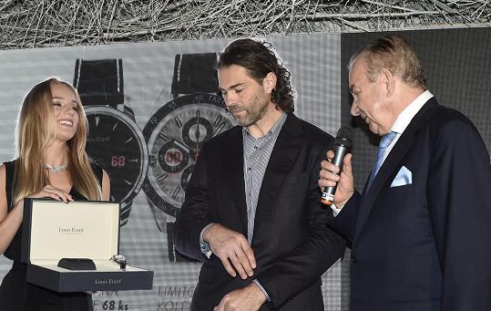 Hokejista představil limitovanou kolekci hodinek Jaromír Jágr 68.