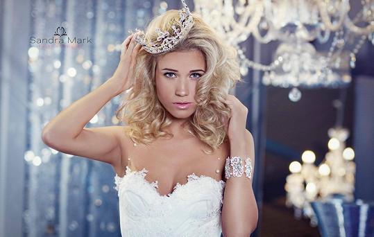Veronika Kopřivová bude jednou krásnou nevěstou.