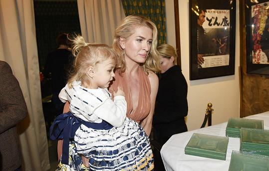 S mladší dcerou Evičkou