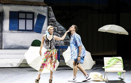 Michaela Nosková v muzikálu Mamma Mia!