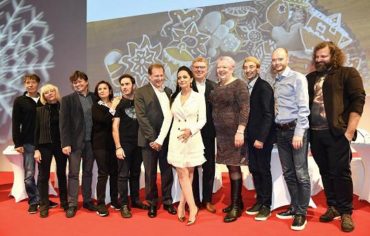 Na tiskové konferenci České televize