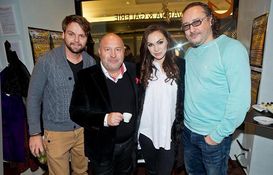 Josef Vágner, autor hudby ke Kleopatře Michal David, Kamila Nývltová a Marian Vojtko