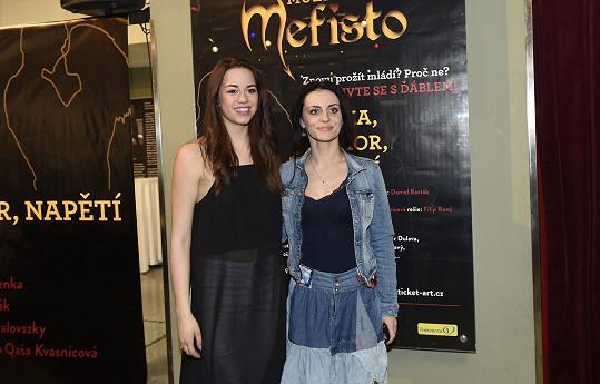 Markéta Procházková bude v představení v divadle Hybernia její sokyní.