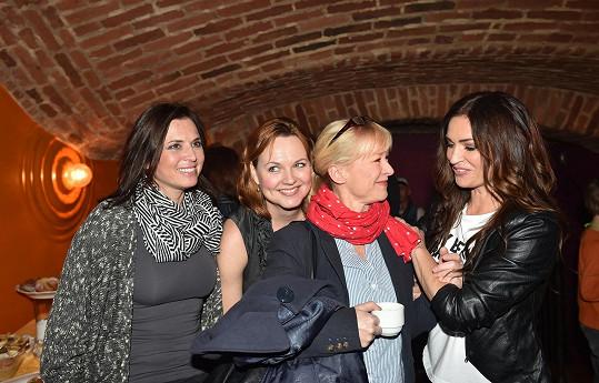 S Danou Batulkovou a Kamilou Špráchalovou na charitativní akci Hanky Kynychové