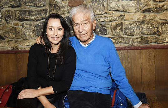 Heidi by s Ivo Pavlíkem slavila jeho 87. narozeniny.
