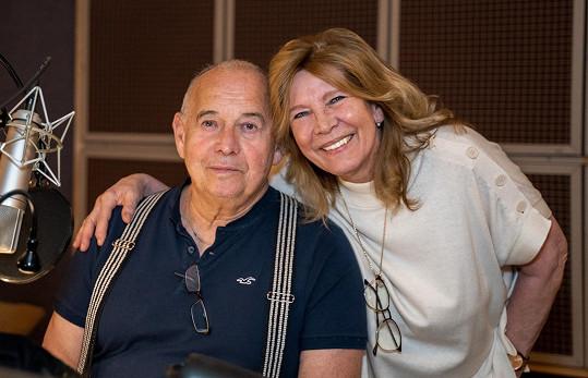 Poprvé se Ivan Vyskočil a Helena Rytířová setkali před padesáti lety, podruhé nyní na práci na nové audio knize.