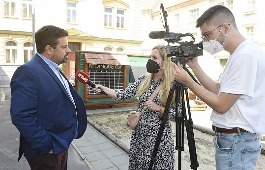 Filip Rajmont při rozhovoru pro Super.cz