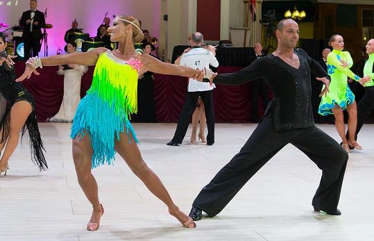 V konkurenci 91 párů skončili v kategorii nad 35 let třetí.