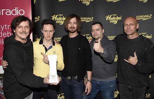 Chinaski dostali Hudební cenu Evropy 2.