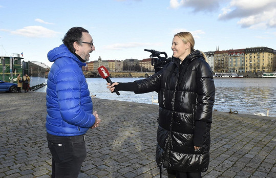 Vojtko při rozhovoru se Super.cz