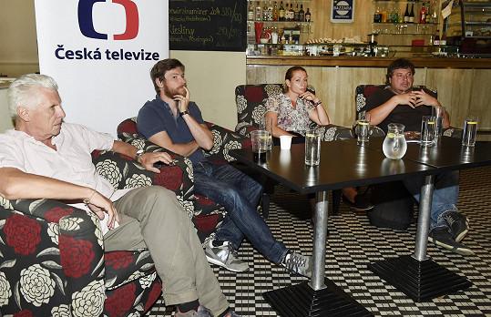 Tisková konference s tvůrci druhé řady seriálu Život a doba soudce A. K.