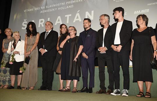 Delegace k filmu Šarlatán