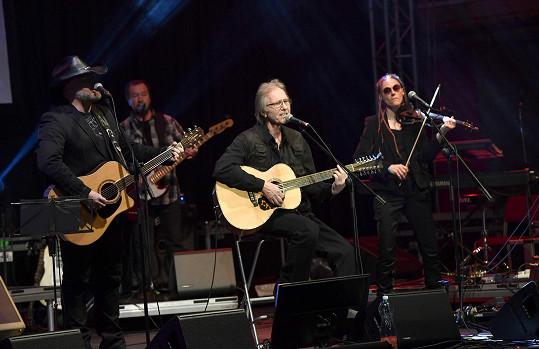 O hudební show se postaral také Jiří Vondráček s Vokobere.