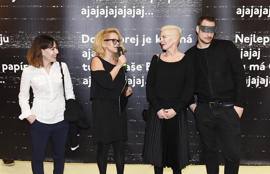 Moderátorka Jitka Asterová zpovídala Kateřinu Kornovou.