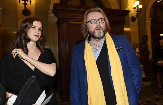 Henrietin stále ještě manžel David Drábek se svojí ex Janou Bernáškovou, s níž má dceru.