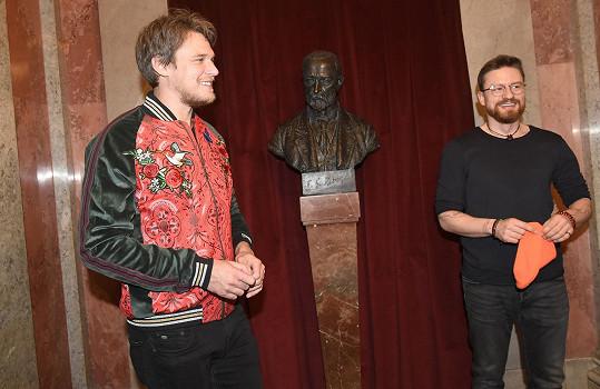 V rámci koncertu vystoupili také Vojta Dyk s držitelem Grammy Ondřejem Pivcem.