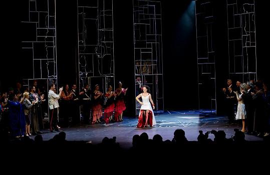 S Lucií jsme si povídali po představení Carmen, které se hraje již deset let.