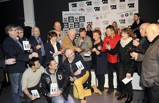 A křtil novou knihu Milana Drobného.