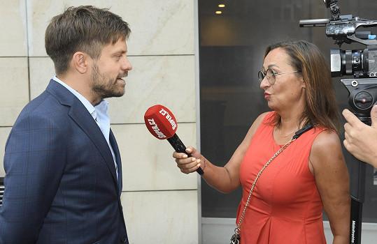 Mádl při rozhovoru se Super.cz