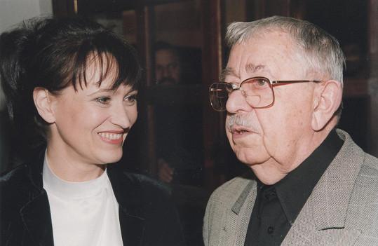 Hereččiným bratrancem byl Vlastimil Brodský.