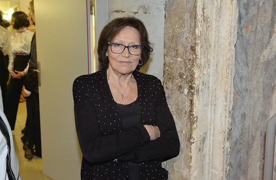 Martu Kubišovou zarmoutila smrt Zdeňka Srstky.