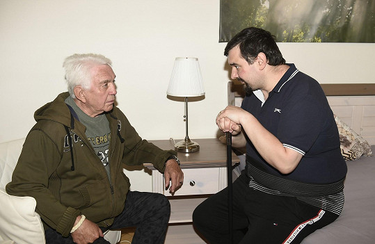 S režisérem Tomášem Magnuskem točí film Stáří není pro sraby.