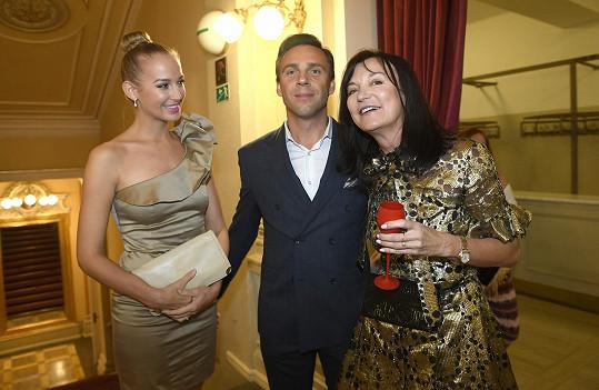 Návrhářka Beata Rajská je pozvala na svoji módní přehlídku.