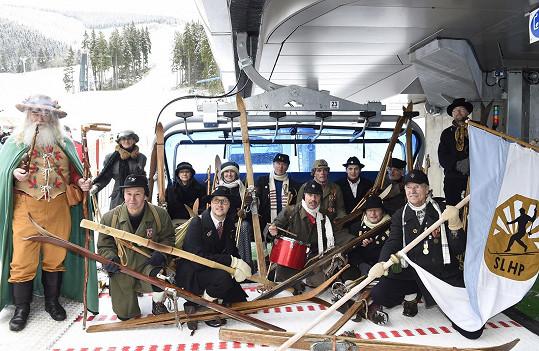 Na openingu se zahajoval i provoz nové vyhřívané lanovky.